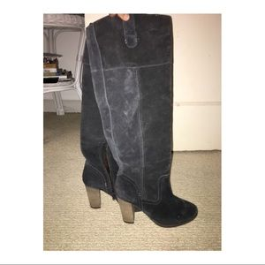 Dolce vita knee high suede boots!